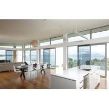 Casual Villas Light Tinted Glass Aluminium Sliding Windows and Doors