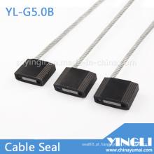 Puxe o selo de cabo de segurança apertado em 5,0 mm de diâmetro