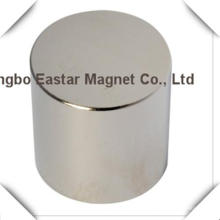 N38 Imán de disco grande de neodimio con la galjanoplastia del cinc/del níquel/del epóxido