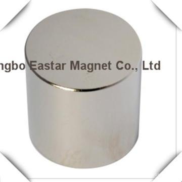 N38 Neodymium Big Disc Magnet with Zinc/Nickel/Epoxy Plating