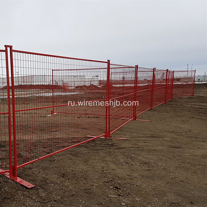 PVC+Coated+Canada+Style+Temporary+Fence
