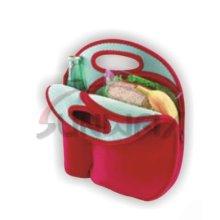 Neopreno de encargo aisló el bolso del almuerzo, bolso de la comida campestre, la bolsa de asas (BC0057)