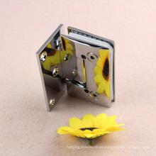 Suministrar todo tipo de puertas de ducha de 90 grados ajustar el vidrio de la bisagra