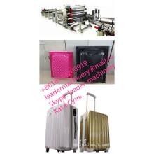 Machines d'extrusion de feuille de valise de PC ABS, chaîne de production, co-extrusion dans la matrice.