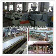 WPC Wood Plastic Decking Flooring Profile Machine