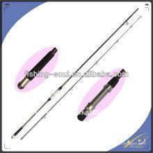 CPR001 2sección, barra de carbono en blanco Carp Fishing Rod