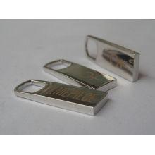 Alta qualidade e preço barato de logotipo personalizado zipper metal puxar