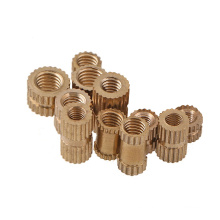 m2m3m4m5m6m8m10 Tuercas de remache de inserción moleteadas de latón personalizadas