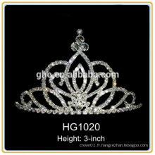Mini princesse tiare prince couronne tiare silicone couronne royale tiare