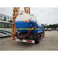 Dongfeng 9000L Camiones de succión de alcantarillado