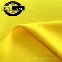75D72F Tissu interlock 100% polyester pour le textile à tricoter trame