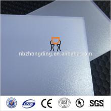 ПК рассеянный лист поликарбоната с УФ-защитой