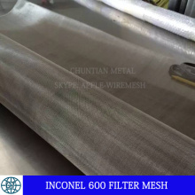 Malla de alambre de filtro Inconel 600