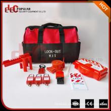 Elecpopular Fábrica de China Kit de bloqueo personal Kit de etiqueta de seguridad de bloqueo portátil