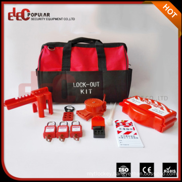 Elecpopular China Factory Personal Lock Kit Portable Safety Lockout Bag Tagout Kit