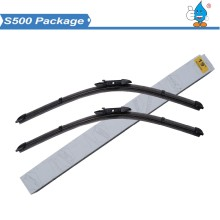 "S500 Brand New Twin Pack 26"" 16"" Front Windscreen Flat Aero Original Wiper Blades for Vauxhall Corsa D 2006-15 Wipers"