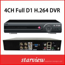 4CH Full D1 P2p Cloud DVR
