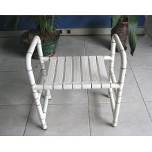 Cadeira de comodo de nylon e aço inoxidável também para banho
