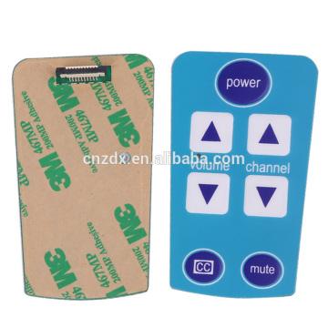Membrane switch sticker panels