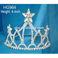 Bijoux en gros Tiara Party tiara couronne tiara pour enfants 4 juillet, la tiare LED clignotante
