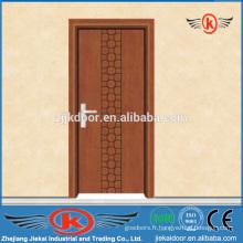 JK-P9016 chambre moderne en PVC porte intérieure en bois
