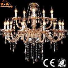 Living Room Hotel Home Decorative LED Crystal Chandeliers