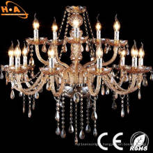 European Style Retro Crystal Office LED Pendant Lamp