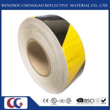 Черный и желтый светоотражающий безопасности предупреждение ленты (C3500-S)
