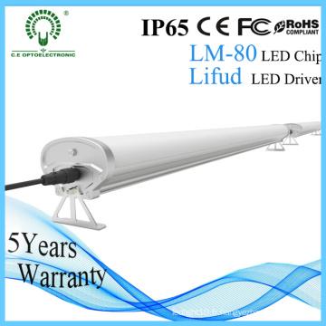 1200mm 4FT 40W 50W IP65 imperméabilisent la lumière industrielle imperméable de la poussière LED