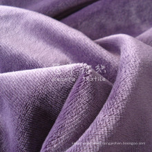 Short Pile Velour Velvet for Home Textile