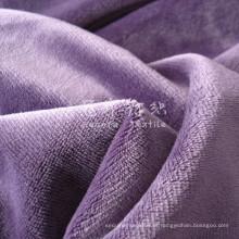 Veludo de veludo pilha curta para têxteis-lar
