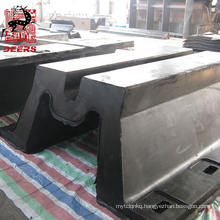 Deers super m type rubber fender for boat and port