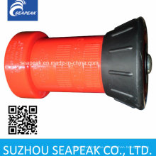 Red Plastic Fire Hose Nozzle