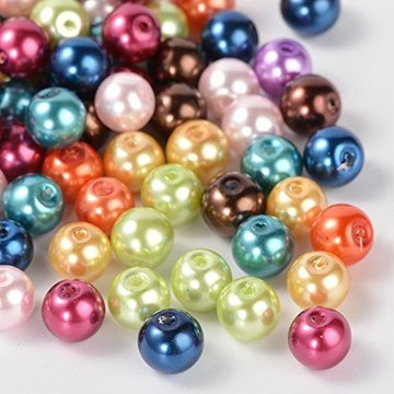 Plastic Pearl Beads With Hole In Bulk