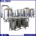 Stainless steel brewhouse heated by gas / steam / electric