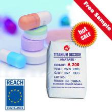 Medicine Grade Anatase Titanium Dioxide (A200)