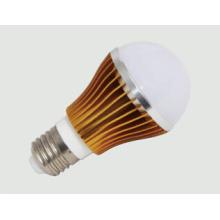 E27 Hochleistungs-Goldene LED-Birne 5W