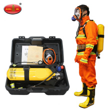 Appareil respiratoire à air comprimé pour la lutte contre l'incendie