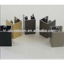 Aluminum curtain wall extrusion profile