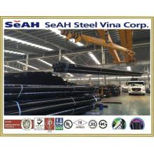 """Gerilltes schwarzes Stahlrohr 1 """"- 8"""" nach AS, BS, JIS, DIN, ASTM, ERW Stahlrohr, geschweißte Stahlrohre, verzinkte Stahlrohre"""