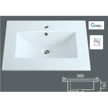 Thin Edge Ceramic Cabinet Sink/Vanity Top (A-3122)