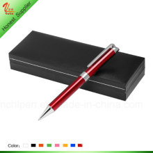 Red Color Metal Pen for Women Gift
