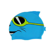 Профессиональные красочные дети мультфильм шапочка для плавания с изготовленным на заказ Логосом