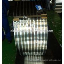 Banda de alumínio estreita