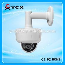 2.0 MP 1080P motorizado de enfoque automático HD TVI IR cámara de la bóveda IP66 impermeable y Vandalproof al aire libre HD cámara de CCTV