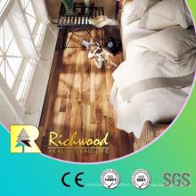 8.3mm HDF Laminate Walnut Maple Parquet Vinyl Plank Laminated Flooring