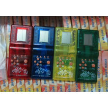 Transparent Color E9999 Hand Held Brick Games