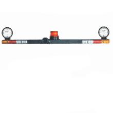 Gran imán y tornillo Instalación Área de minería Camiones Señal de advertencia de combinación especial Mine Lightbar