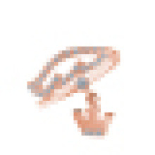 Anillo de corona de traje principal de plata de ley 925 para mujer