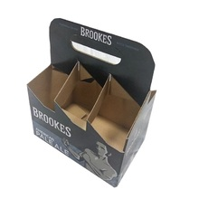 CARDBOARD BEER BOTTLE BOX 4 PACK